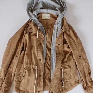 Forever 21 Brownish Pink Military Jacket Small